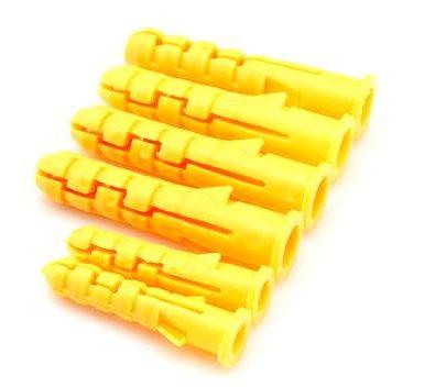 Konisk type plastvægsanker nylon stik
