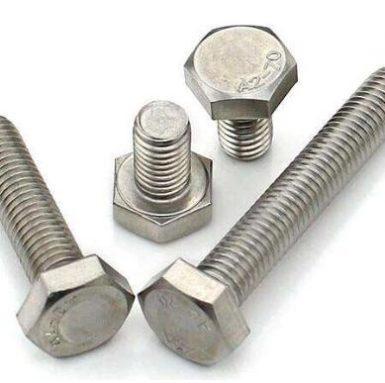 DIN933 hexbolt A2 70 rustfrit stål 304 og 316