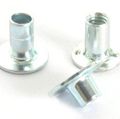 Disk svejsemøtrik carbonstål zink