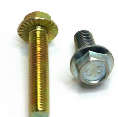DIN 6921 hexflangebolt 8,8 grade zinkbelagt