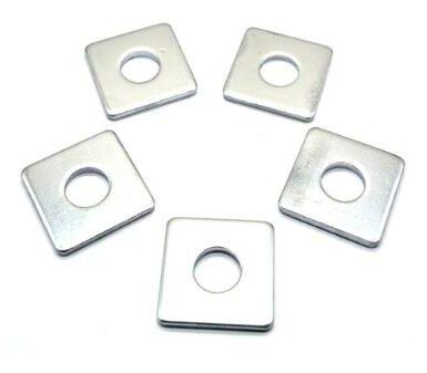 zink firkantet skive af kulstofstål
