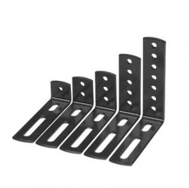 Svejsning og stempling af metalbænkehylde beslag