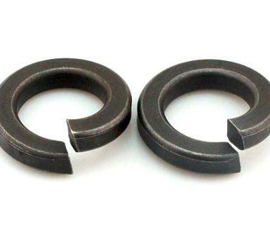 Normal fjederskive med sort oxid DIN127 DIN128